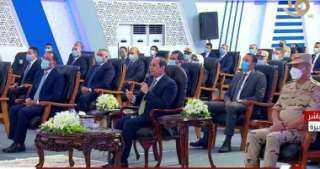 """الرئيس السيسي: """"مقدرشى اسكت واسيب المناطق غير الآمنة بهذا الشكل"""""""
